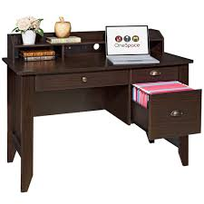 Sauder Graham Hill Computer Desk With Hutch by Amazon Com Onespace 50 1617 Executive Desk With Hutch Usb And
