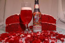 budweiser beer cake let u0027s get weird meet ballast point red velvet beer street journal