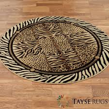 Animal Print Furniture by Festival Jungle Animal Print Round Rug