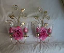 home interiors votive cups wall sconce ideas outstanding vintage home interior wall sconces