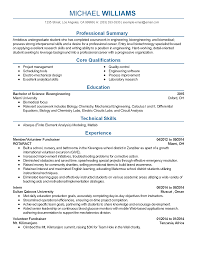 Resume Sample Of Undergraduate Student by Resume For An Engineering Student Free Resume Example And