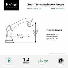 8 Inch Faucet Bathroom by Bathroom Faucet Kraususa Com