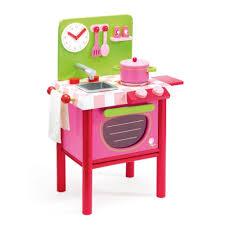cuisine enfant 18 mois cuisinière en bois djeco jouet lilou cuisinière en
