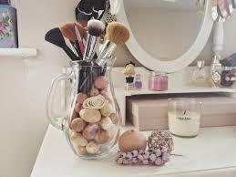 Makeup Organizer Desk by Easy U0026 Diy Makeup Brush Organizer Trends4us Com