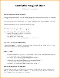 doc 600730 descriptive essay example u2013 7 descriptive essay