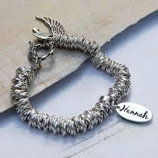 sterling silver ring bracelet images Personalised sterling silver name charm bracelet indivijewels jpg