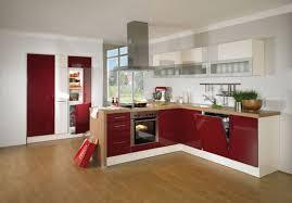 wellmann küche wellmann calla einbauküche zweizeilig rot
