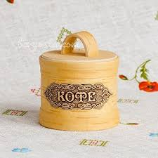 to buy russian birch bark kitchen jars for tea and coffee in