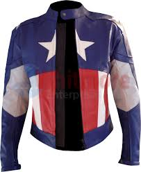 motorbike coats captain america leather costume jacket the winter soldier leather