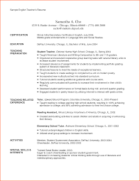Resume In English Examples student resume doc free resume example and writing download