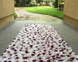 petal aisle runner silk petal aisle runners for weddings by petalederose
