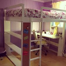 Lofted Bedroom by Loft Bed Teen Girls Loft Bed With Desk Loft Beds For Girls