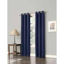 Royal Blue Blackout Curtains Sun Zero Curtains U0026 Drapes Window Treatments The Home Depot