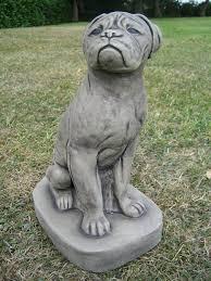 boxer dog statue stone boxer dog garden statue amazon co uk garden u0026 outdoors