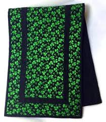 simple st patrick u0027s day table runner table runners runners and