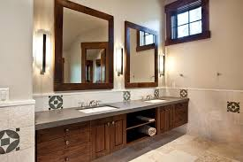 Free Standing Bathroom Vanities by Antique Wooden Mirror Frame Bathroom Rustic With Wood Trim