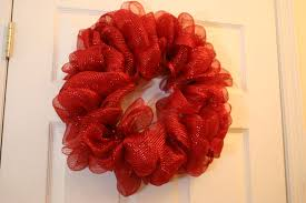 ribbon wreath how to make a mesh wreath 30 diys with guide patterns