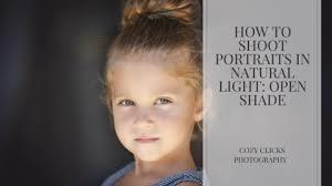 Natural Light Portraits Using Natural Light To Shoot Portraits Cozy Clicks Photography