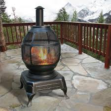 amazon com deckmate potbelly outdoor fireplace model 30321
