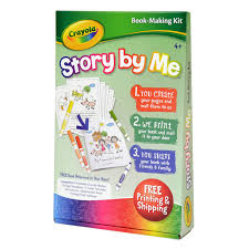 shop for the crayola story by me book making kit at michaels