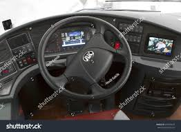 kia steering wheel guangzhou china may 01 2017 cockpit stock photo 654705679