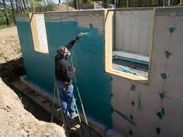 Basement Waterproofing Methods by Exterior Foundation Waterproofing Home Design Ideas And