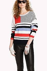 black sweater womens s sweaters fleece hilfiger usa
