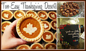 thanksgiving fun desserts two fast u0026 easy thanksgiving desserts youtube
