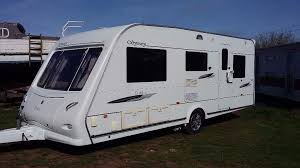 Luxury Caravan Elddis Odyssey 525 5 Berth Luxury Caravan 2008 With Mover U0026 Awning