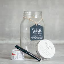 wedding wish jar wish jar relish decor