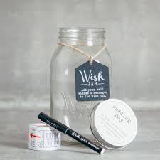 wedding wishes jar wish jar relish decor