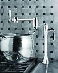 new pot filler from blanco deck mount pot fillers pot filler