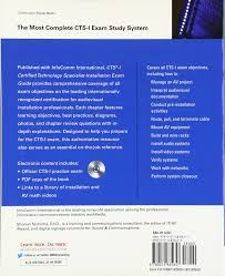 buy cts i certified technology specialist installation exam guide