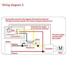 deok yb27va red blue led 100v 2a dc digital ammeter voltmeter 2in1
