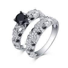 black diamond wedding set best black diamond rings find cheap black diamond rings online