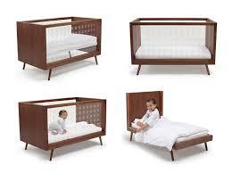 very modern crib ubabub nifty clear cot u0026 junior bed urbanbaby