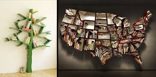 unusual shelving and unusual bookshelves