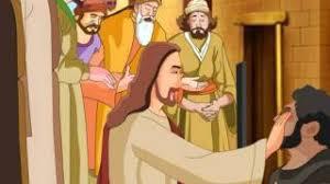 Blind Man At Bethsaida Jesus Heals The Blind Man Animation Youtube