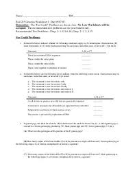 use your knowledge of genetics to complete this worksheet 1 for