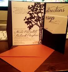 halloween wedding invitation stationery u2013 kasey kyprianou