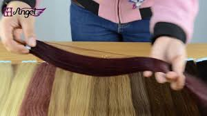24 In Human Hair Extensions by Gh Angel Tape In Human Hair Extensions Display 16 24 Inches 14