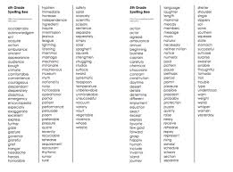 click here for free printable spelling lists of sight words grade