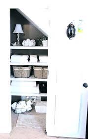 bathroom closet storage ideas bathroom closet shelves closet models