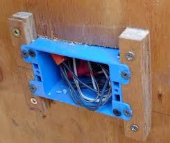 outdoor electrical box for light junction box for outdoor light or installing an old work electrical