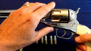 vintage cap guns hubley colt 45 youtube