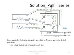 series parallel wiring diagram for 4 conductor humbucker pickups