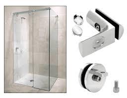 Shower Door Stop Hyda9ch Crl Chrome Hydroslide 90 Degree Wall To Glass Sliding
