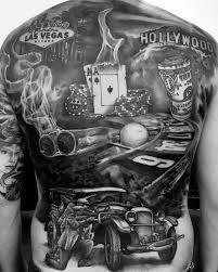 40 poker chip tattoo designs for men masculine ink ideas