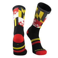 Calvert County Flag Amazon Com Red Lion Maryland Crew Sock Sports U0026 Outdoors