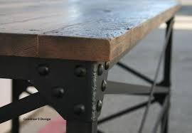 buy a hand made modern industrial desk vintage table french